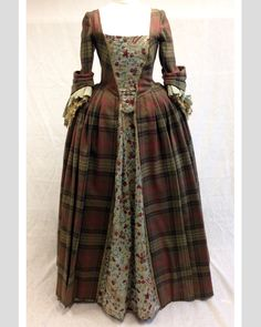 Claire's Gathering Dress | Outlander S1E4 'The Gathering' on Starz | Costume Designer TERRY DRESBACH