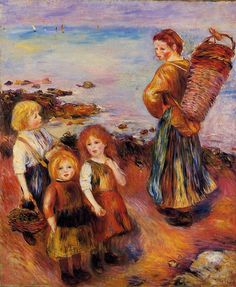 Mussel Fisherman - Pierre-Auguste Renoir