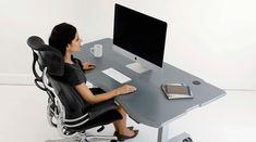 Ergonomic Desk and Ergonomic Furniture, Ergonomic Standing Desks, PACS Radiology Furniture and Computer Desk | Biomorph Adjustable Computer Furniture