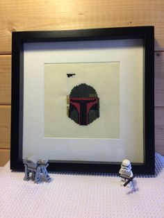 Star Wars Bobba Fett Framed completed by SuperfanCrafts on Etsy