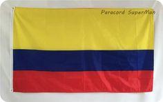 Soccer Nation Flag COLOMBIA (3ft x 5ft, 150x90cm)