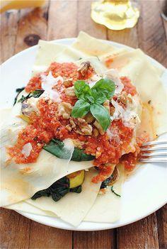 Recipe: Free-Form Vegetarian Lasagna