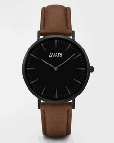 New Classic Brown Leather Band