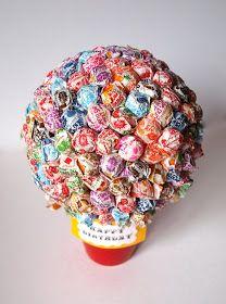 Hannah's Happy Blog: Lollipop Birthday Bouquet