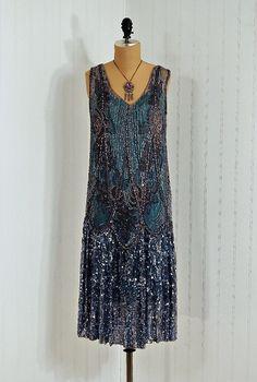1920s dress via Timeless Vixen Vintage on Etsy