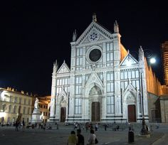 Santa Croce  (@Rosemary Burk, @Yao Yuan, @Anna Miller, Michelangelo is buried here)
