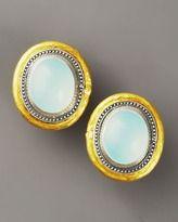 GURHAN JEWELRY NEIMAN AND MARCUS | medieval jewelry-gurhan chalcedony gauntlet earrings