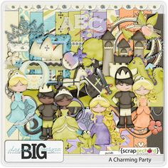 ISO Disney Inspired Kits - DigiShopTalk Digital Scrapbooking