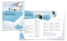 Global Network Services Brochure Template by @StockLayouts