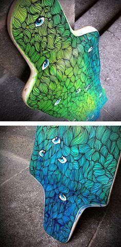 Longboard design | Emilie Vasset