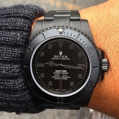 All blacked out by @bamfordwatches