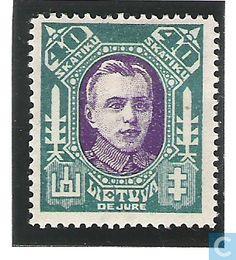 1922Lithuania - A. Juozapavičius (1894-1919)