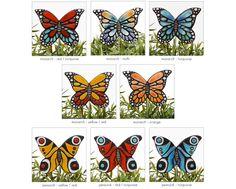 mariposa arte del jardín decoración jardín ornamento por GVEGA