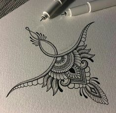 Tattoo Drawings, Body Art Tattoos, New Tattoos, Small Tattoos, Tiny Tattoo, Tattoo Sketches, Underboob Tattoo, Mandala Sternum Tattoo, Sternum Tattoo Design