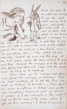 Alice's Wonderland Ch. 1 Down The Rabbit Hole| Serafini Amelia| Alice In Wonderland By Lewis Carroll