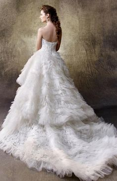 Courtesy of Enzoani Wedding Dresses; www.enzoani.com; Wedding dresses ideas.