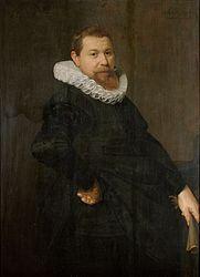 """Nicolaes Eliasz. Pickenoy, Portrait of an man (""""Jan Jacobsz van Foreest""""), 1628 - Stedelijk Museum Alkmaar"""