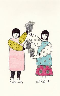 pineapple day - maria luque