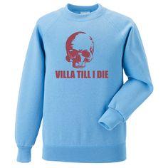 Villa Till I Die (Skull) (Aston Villa)
