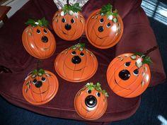 Pumpkin pot lids