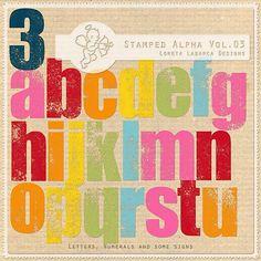 Stamped Alpha Vol.03 by Loreta Labarca