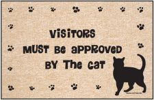 VISITORS APPROVED BY CAT