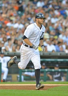 3-23-2014  Danny Worth launched a three-run homer in the eighth inning, but it wasn't enough as the Tigers fell to the Marlins.jpg