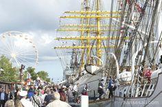 Open Ship @ Hanse Sail Rostock.