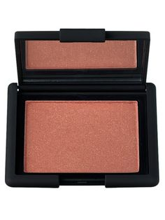 This shimmery rosy terra-cotta Nars blush is a blush/bronzer that works for fall and winter, and it's gorgeous on medium and olive skin.