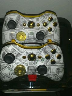 Godfather Xbox controllers