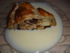 Sabines und Anjas Hobbyeck: Apple Pie Apple Pie, Pork, Meat, Apple Pie Cake, Food Food, Apple Cobbler, Kale Stir Fry, Pigs, Pork Chops