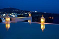 Aqua luxury suites Santorini, Greece, what a life