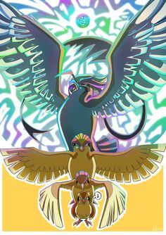 Evolution line: Pidgeot by Aiko102.deviantart.com on @deviantART