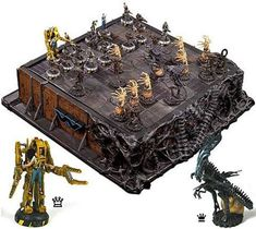 Alien Chess Board
