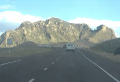 Transmountain @ El Paso, TX. See Mammoth Rock too?