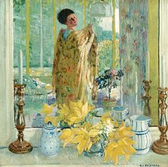 Frederick Carl Frieseke (April 7, 1874 – August 24, 1939) was an American Impressionist painter who spent most of his life as an expatriate in France.