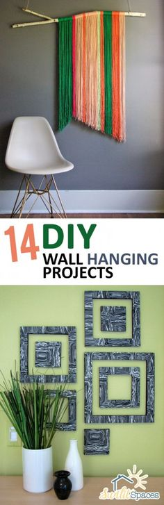 Wall Hanging Projects, DIY Wall Art, Easy Wall Art, Wall Decor Ideas, How to Decorate Your Walls, Wall Art for Less, How to Make Your Own Wall Art, DIY Wall Decor, DIY Wall Art, Popular Pin