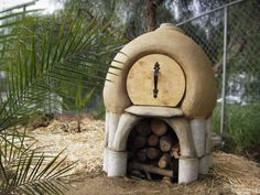 Cob outdoor oven, The Diva Cob Oven by Michael Blaha