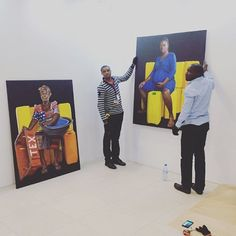 Installing our solo booth by @jeremiahquarshie @artxlagos yesterday. #jeremiahquarshie #artxlagos #artfair African Art, Instagram Posts, Africa Art, African Artwork, Afro Art