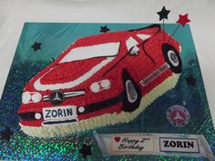 www.frescofoods.co.nz occasion cakes in Auckland New Zealand Sports car cake