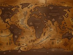 widescreen wallpaper world map Wallpaper World Map, Hd Wallpaper, Desktop Wallpapers, Wallpaper Space, Colorful Wallpaper, Westeros Map, Rpg Map, Parallel Universe, Fantasy Map