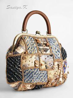 """Купить Сумка """"Denim fantasy"""" женская ручная работа - сумка, сумка женская, женская сумка"""