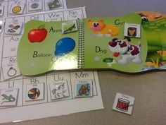 Love TEACCH activities - a selection here including this one adding images to books :)
