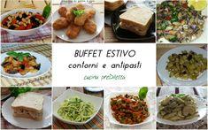 Siamo in piena estate e si avvicinano la notte di San Lorenzo e la notte di Ferragosto...vi va di preparare un bel buffet freddo da condividere con gli amici?