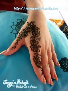 The Ethnic Henna (Mehndi) Artwork Full Mehndi Designs, Finger Henna Designs, Henna Art Designs, Mehndi Designs For Girls, Stylish Mehndi Designs, Mehndi Designs For Fingers, Mehndi Design Pictures, Beautiful Mehndi Design, Simple Henna Tattoo