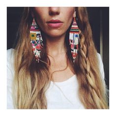 Dang... So  Regram of @kelcipotter in the super sized Otti Berger earrings available soon @cameronmarks ✨✨✨✨✨✨