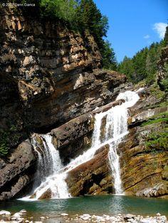 Canada , Alberta,  Improvement District No. 4, Cameron Falls