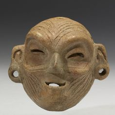 Maskette mexico 1200-900 BC (Early Formative)