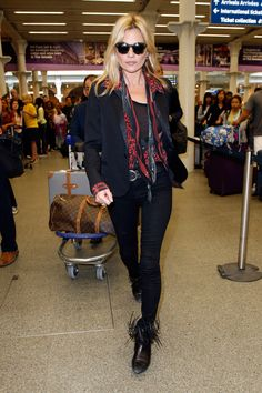 Kate Moss Uses This Classic Rock 'n' Roll Favorite to Step Up Her Street Style