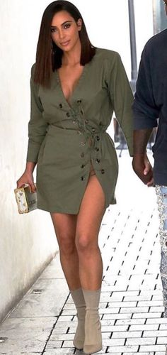 Simply Fashion, Kardashian, Shirt Dress, My Style, Shirts, Dresses, Vestidos, Shirtdress, Dress